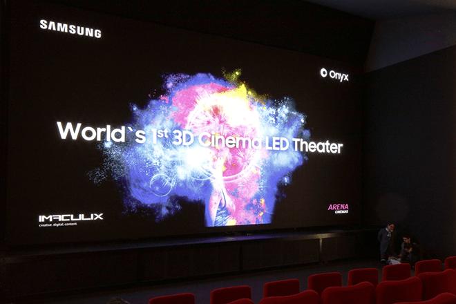 Samsung estrena en Europa la pantalla para salas de cine Samsung Cinema LED