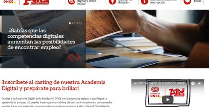 Fundación ONCE ofrece formación en nuevas tecnologías a jóvenes con discapacidad en su nuevo proyecto de Academia Digital