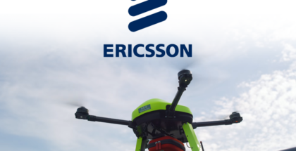 Ericsson muestra las capacidades del 5G en casos de emergencia con un drone equipado con desfibrilador