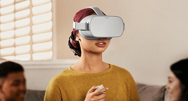 Oculus Go, es el primer visor de VR independiente desarrollado por Oculus