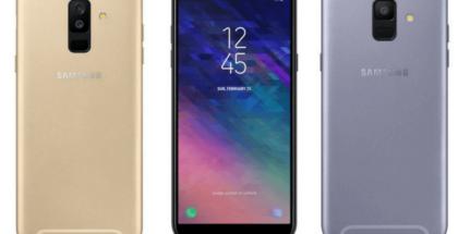 Telefonos Galaxy A6 y A6 Plus