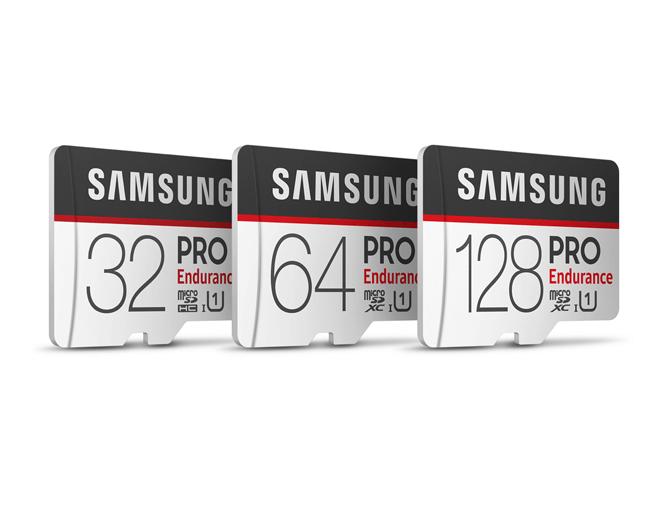 Samsung PRO Endurance: nuevas tarjetas microSD de 128 GB para vídeo 4K