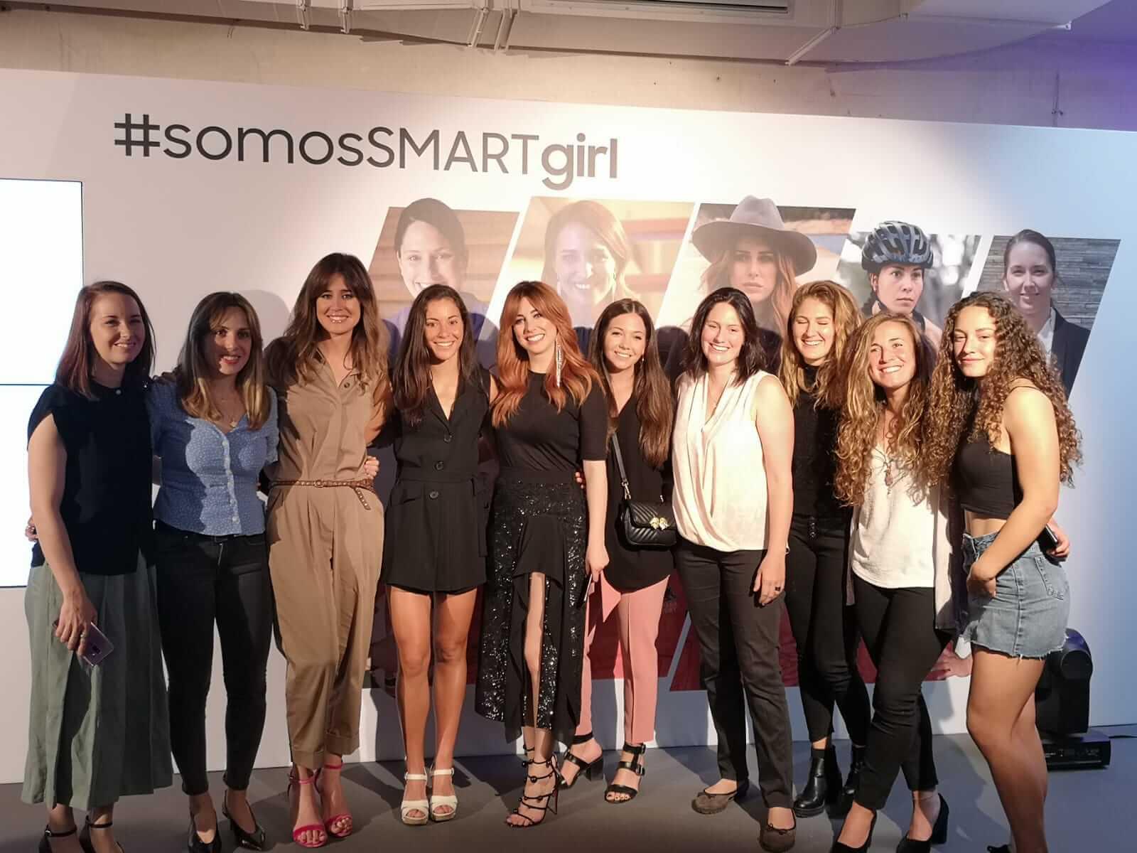 samsung smart girl embajadoras tecnologia y mujer