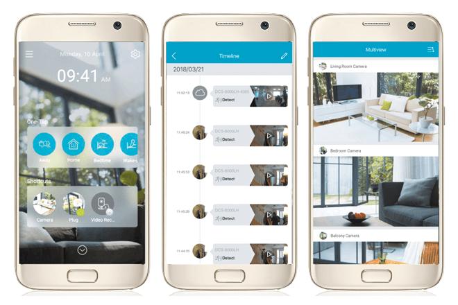mydlink: Una app para proteger el hogar y disfrutar de unas vacaciones más tranquilas