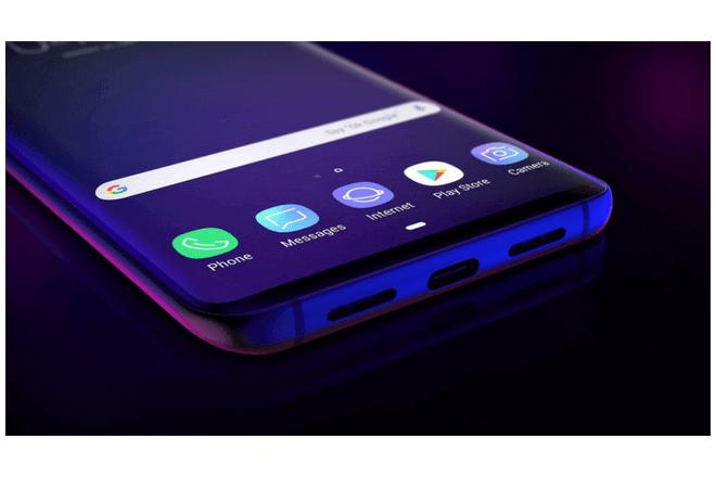 El Galaxy S10 podría tener un lector de huellas en la parte inferior de su pantalla