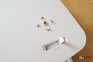 El ajuste trapezoidal automático del LG MiniBeam, calibra y corrige la distorsión de la imagen para garantizar una visualización óptima