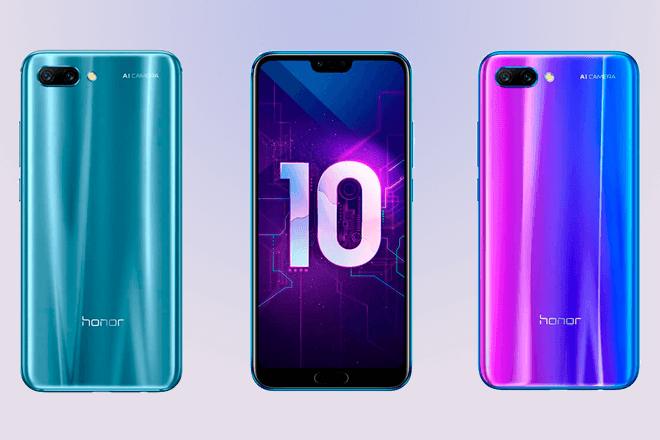 El Honor 10 recibirá actualización para mejorar su cámara y rendimiento en videojuegos