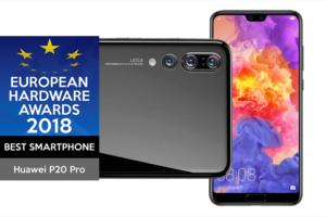 """Huawei P20 Pro es nombrado """"Mejor Smartphone de 2018"""""""