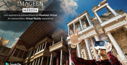 La realidad virtual llega al Teatro Romano de Mérida gracias a Imageen