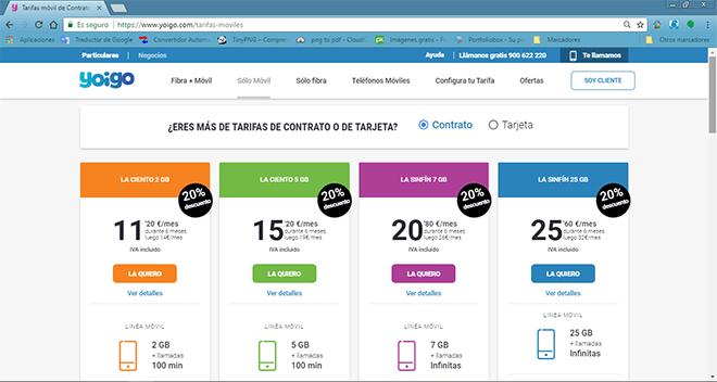 Mejores tarifas móviles con datos y llamadas ilimitadas (Julio 2018)
