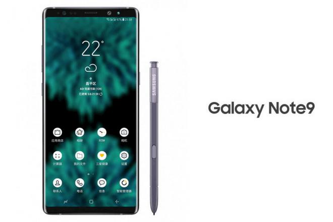 El Samsung Galaxy Note 9 tendrá pantalla sin marcos y sin notch