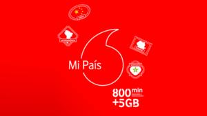 Vodafone presenta Mi País, su nueva tarifa internacional para clientes de prepago