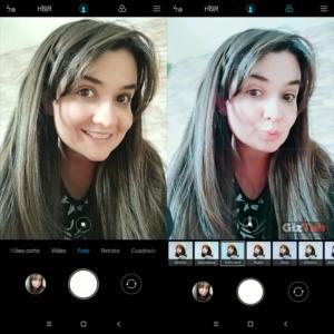 Modos y configuración de la cámara frontal del Redmi Note 5