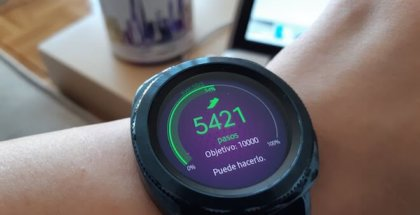 samsung gear s3 foto similar al Galaxy watch