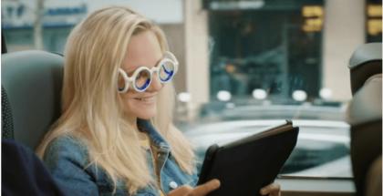 foto de gafas antimareo de Citroën