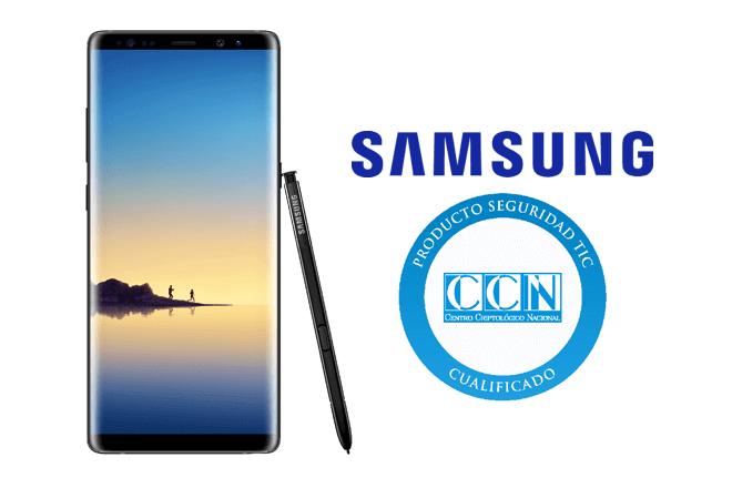 El Samsung Galaxy Note8 obtiene la cualificación de seguridad otorgada por el Centro Criptológico Nacional (CCN)