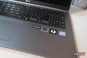 LG Gram cuenta con teclado retroiluminado con 2 niveles de brillo
