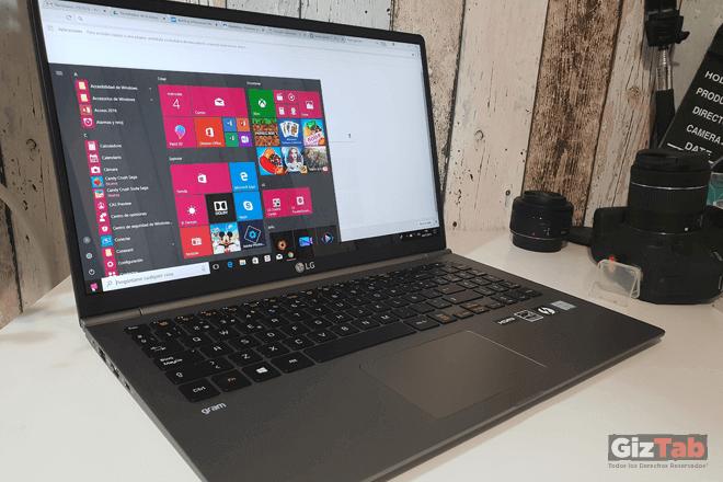LG Gram: opiniones y análisis del portátil súper ligero de LG
