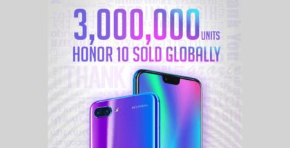 Durante el primer semestre de 2018, Honor ha crecido en ventas en España