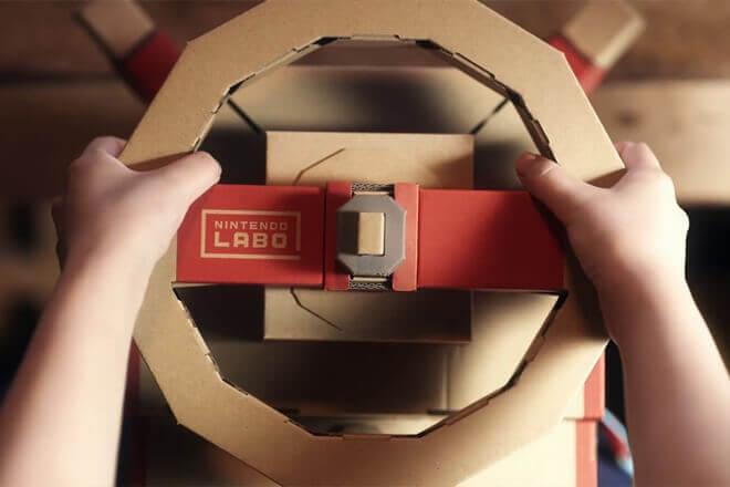 Foto de Nintendo Labo con precio para el vehicle Kit