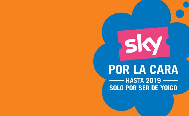 SKY gratis para todos los clientes de Yoigo con esta oferta de verano