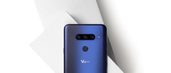 LG V40 Thinq, el móvil con 5 cámaras de LG se hace realidad