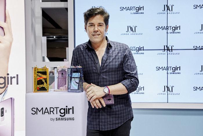 El Samsung Galaxy S9 inspira la nueva colección de clutches del diseñador Jorge Vázquez