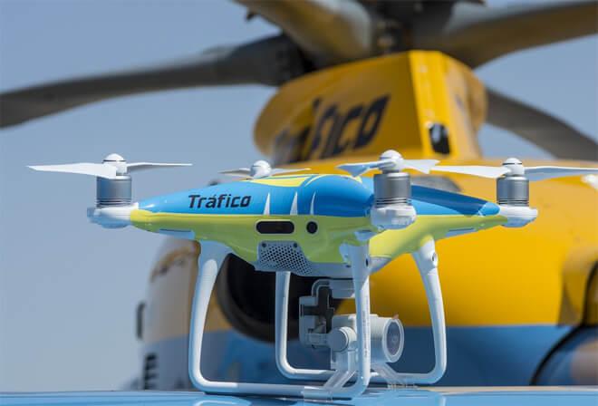 Así funcionan los mini radares voladores de la DGT