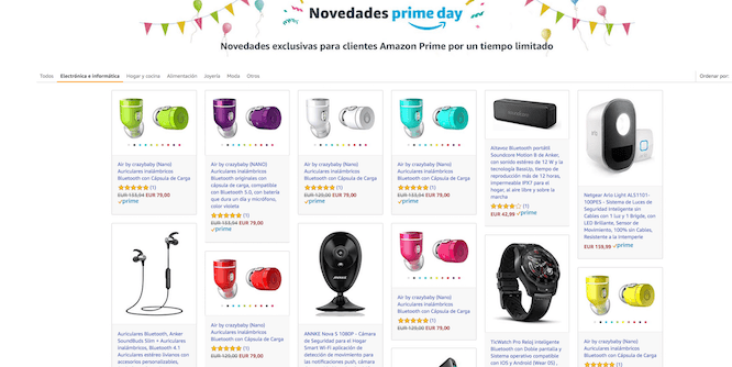 Cómo seguir una oferta de Amazon Prime Day