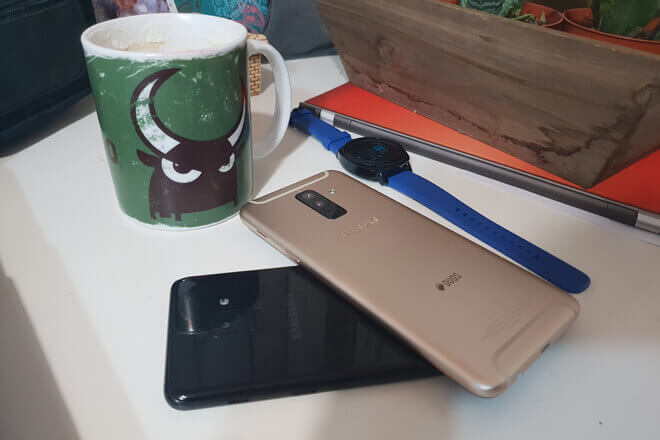 Foto de Galaxy A6+ Vs Galaxy A8 2018 comparativa