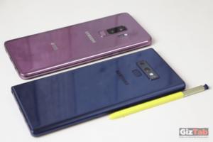 El Galaxy Note 9 y el S9 PLus están entre los mejores móviles para de 2018