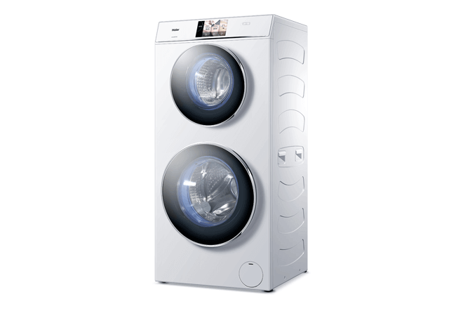 Serie de lavadoras secadoras de Haier, modelo Duo Dry