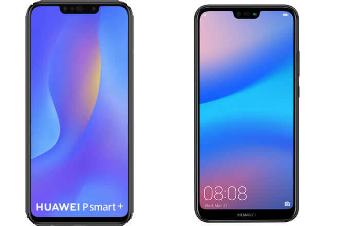 Huawei P20 lite vs P Smart plus