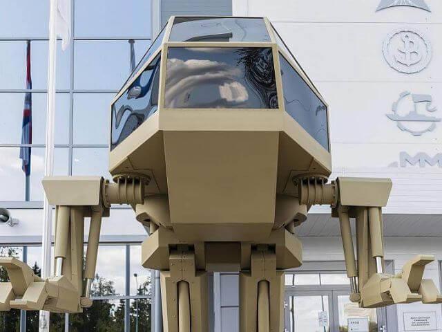 Kalashnikov presenta su robot de guerra al estilo de Star Wars