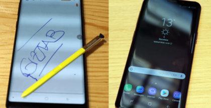 Foto de Note 9 vs S9 plus