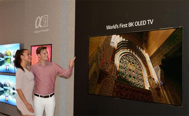 Foto de Primer TV OLED 8K del mundo