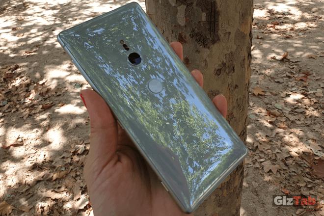 Acabados en cristal del Xperia XZ2