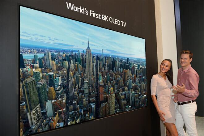 Así es el primer TV OLED 8K del mundo
