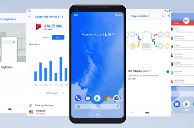 actualizar a Android 9
