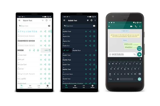 Cómo cambiar los tipos de letra en Whatsapp