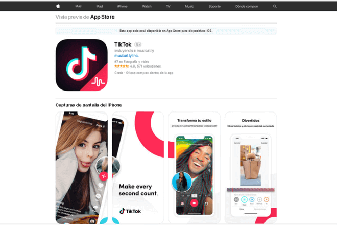 Descargar TikTok app: Cómo funciona la aplicación de moda