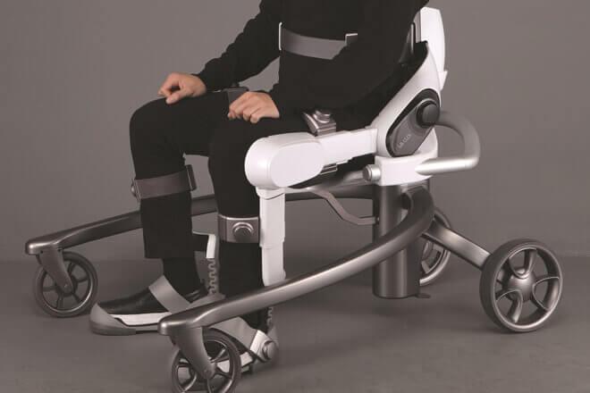 CLOi Suitbot, el exoesqueleto de LG para revolucionar la movilidad