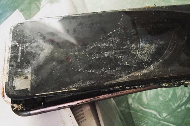 explosiones de iPhones en 2018