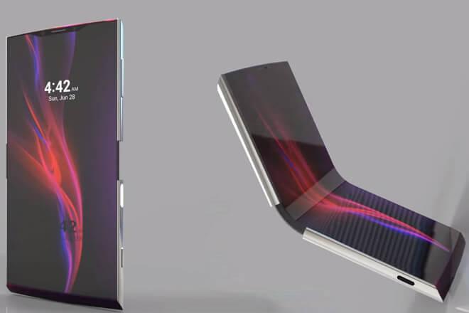 Sony Xperia Flex: El móvil plegable de Sony sería así