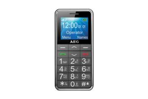 AEG M250, el móvil para ancianos