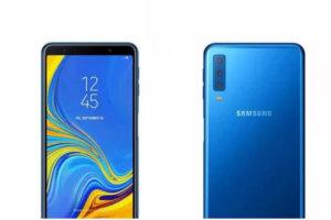 Características del Galaxy A9 Pro 2018