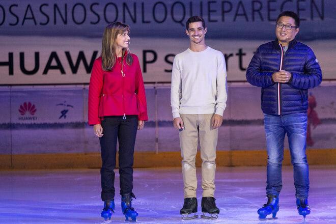Huawei y el bicampeón del mundo de patinaje Javier Fernández se unen en la lucha contra el cáncer infantil