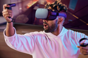 Foto de Oculus Quest las gafas VR gaming