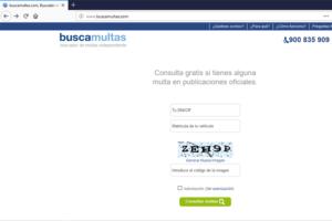 web buscamultas.com