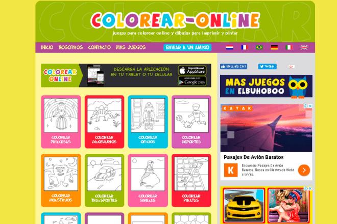 Dibujos Para Colorear E Imprimir Las Mejores Páginas Para Descargarlos